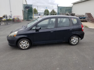 USED 2007 HONDA FIT LX AUTOMATIC