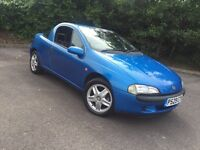 Vauxhall Tigra 1.4 Blue With Only **45,000 Miles From New**1 Lady Owner**New Mot