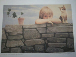 """Unframed signed & numbered artist print """"Summer Thoughts"""""""