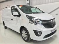 VAUXHALL VIVARO SPORTIVE LONG WHEELBASE 1.6CDTi 115PS 2900 L2H1 LOW MILEAGE VAN