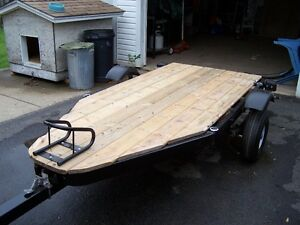 Motorcycle, trailer
