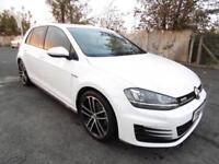 Volkswagen GOLF GTD S-A, DSG, White, 2017, 3500 Miles Only,