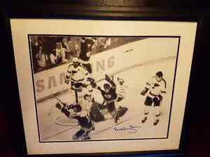 Bobby Orr Autographed and Framed Photo