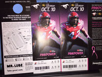 Pair of Tix to Stamps & Esks on Sat Oct 10th