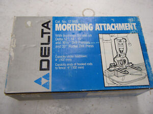 Mortising Attachment Campbell River Comox Valley Area image 1
