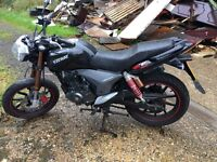 Rkv 125cc 2014 plate spares or repairs