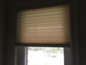 Cordless - Levolor pleated blind