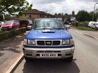 Nissan navara 2001 blue n22 King cab