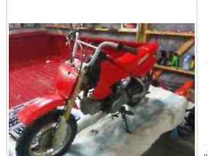 Looking for a pit bike running or not for  CHEAP AF