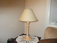 TRI LIGHT TABLE LAMP ONLY $4.50