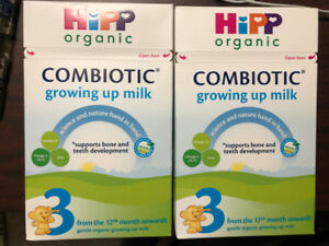 Lot/2 HiPP Combiotic Growing Up Milk Formula Stage 3 12mths +