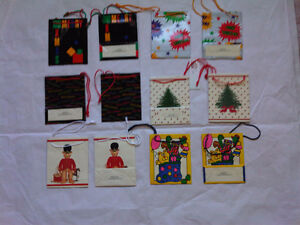 Christmas paper gift bags, box from Gordon Fraser Gallery