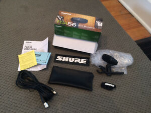 Shure PGA56 Snare/Tom Drum Mic Bundle