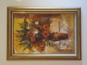 Original Framed Painting from Mexico