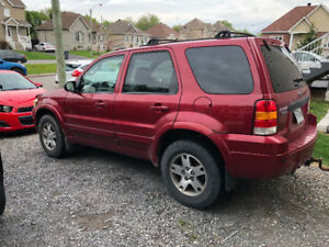 Ford escape 2005 limited