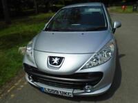 Peugeot 207 1.4 Verve. AC. ALLOYS. WARRANTY. EW. EM. ISOFIX. RCL. RCD. FRONT FOG