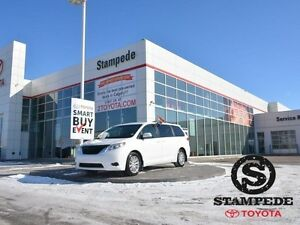 2013 Toyota Sienna 5DR V6 LE 7-PASS AWD W/HEATED LEATHER