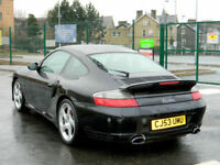 Porsche 911 3.6 auto 2004MY Turbo Tiptronic S WITH ONLY 92K MLS+FPSH+HIGH SPEC!