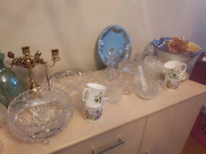 Dishes / Crystal