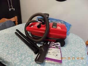 hoover encore canister cleaner