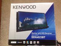 KENWOOD DDX6023-BT BLUETOOTH DVD HEADUNIT