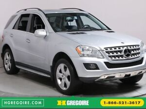 2010 Mercedes Benz ML350 ML 350 4MATIC A/C NAV CUIR TOIT BLUETOO