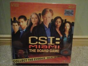CSI MIami: The Board Game --NEW PRICE Kitchener / Waterloo Kitchener Area image 1