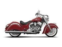 2015 Indian Chief Classic Indian Red