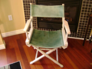 Vintage directors chair
