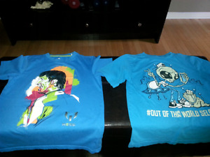 Boys t-shirts  (size 10/12)