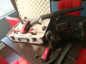 Parrot bebop 2 drone (repairable) with skycontroller and case