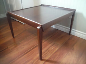 European Style Designer Coffee Table Rich Mahogony
