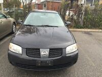 2005 Nissan Sentra 1.8 special edition 160000km safety