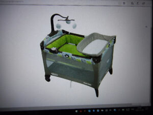 Graco pack n play,couchette,table langer,parc,bassinet,commode