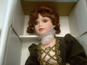 "Porcelain Doll, Kimberly Collection "" Lady Margaret"""