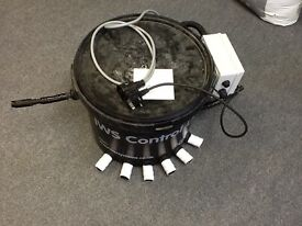 Hydroponic equipment IWS Brain Bucket with Pro Fittings