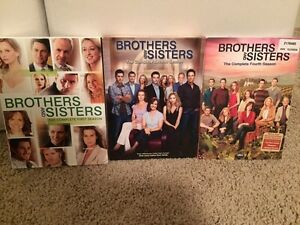 Brothers and Sisters - season 1, 2, and 4