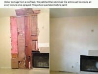 Professional Drywall Finisher (18 years) mold fire flood water