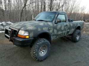 1999 Ford ranger lifted