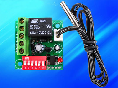 Adjustable Temperature Sensor - Adjustable Thermostat Temperature 12V Switch Cooling Controller Sensor Module