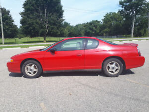 Safetied & E-Tested - 2005 Chevrolet Monte Carlo for Sale