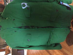 Men's Salomon Ski Jacket Green