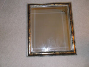 Multi Colour Frame Mirror. Great Shape.  must see