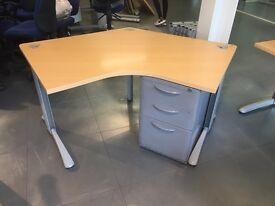 Super clearance diagonal desks on clearance @ just £10 each
