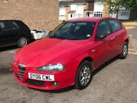 2006 Alfa Romeo 147 1.9JTDM Lusso long mot px to clear spares and repairs