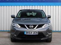 Nissan Qashqai 1.6 Dci Acenta Premium 2014 (64) • from £49.40 pw