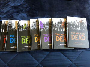 The Walking Dead - Volumes 1-7 Hardcover (First 84 issues)