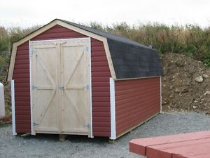 new 8X16 shed