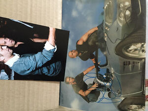 Paul walker vin diesel signed  photo 8x10  + original wire photo West Island Greater Montréal image 1