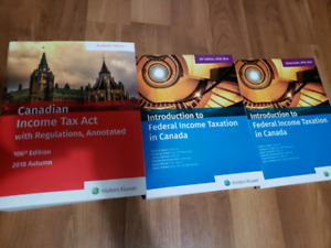 SELLING intro to federal inco tax txtbk, study guide act 2018-19
